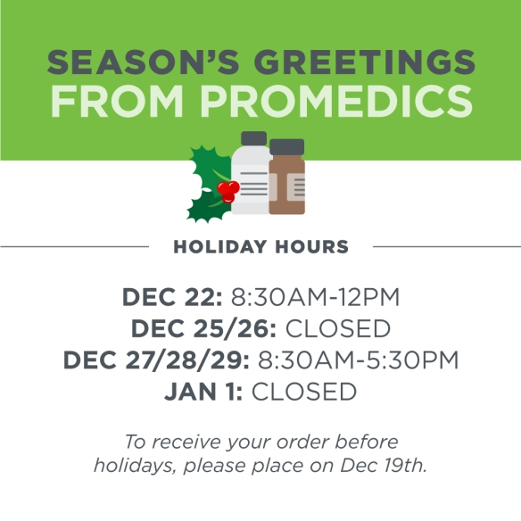 Promedics-Holiday-Hours